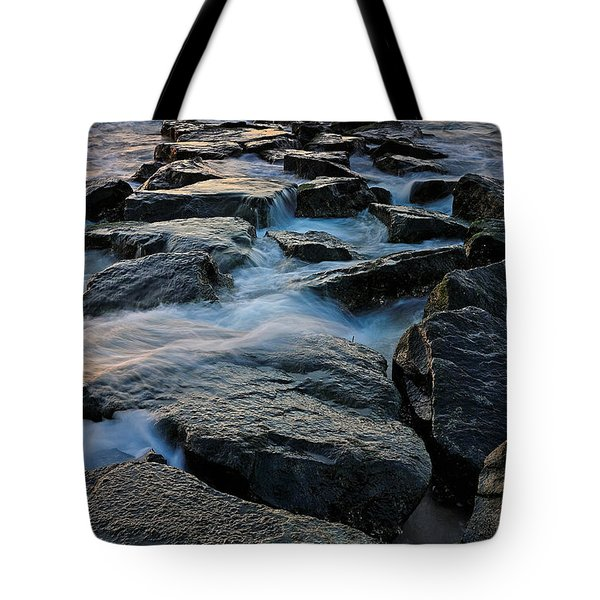 The Tide Rolls In Tote Bag
