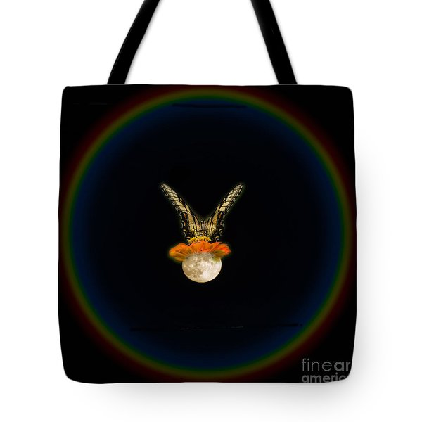 Tote Bag featuring the photograph The Tiger Has Landed by Donna Brown