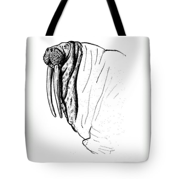 The Time Has Come The Walrus Said Tote Bag