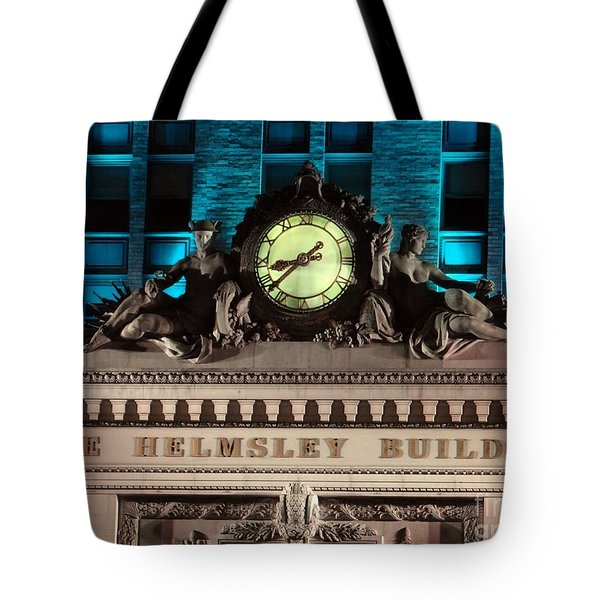 The Time Keepers Tote Bag by Ed Weidman