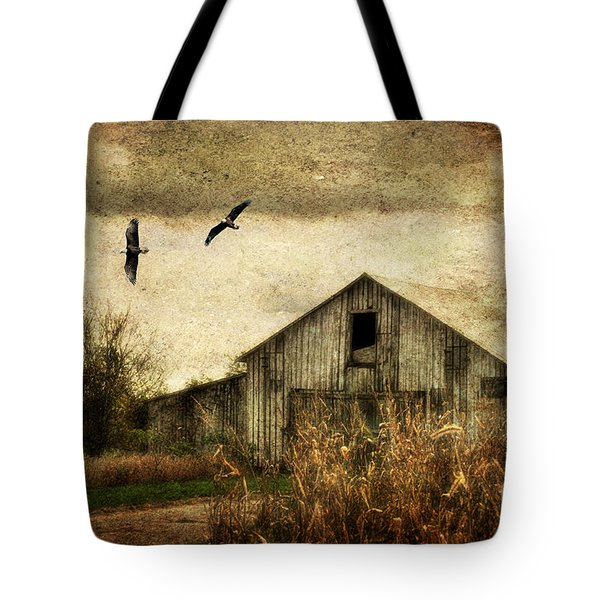 The Times They Are A Changing Tote Bag by Lois Bryan