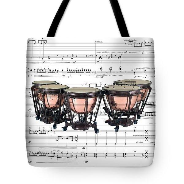 The Timpani Tote Bag