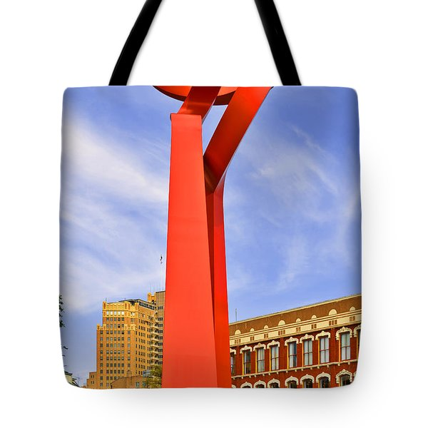 The Torch Of Friendship Tote Bag