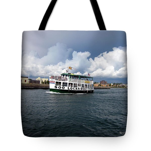 The Tour Tote Bag by Ron Haist
