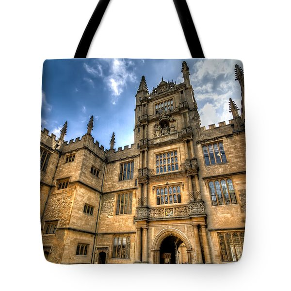 The Tower Of The Five Orders Tote Bag by Tim Stanley