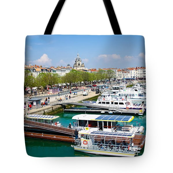 The Town And Port Of La Rochelle Tote Bag
