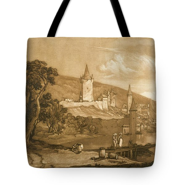 The Town Of Thun Tote Bag by Joseph Mallord William Turner