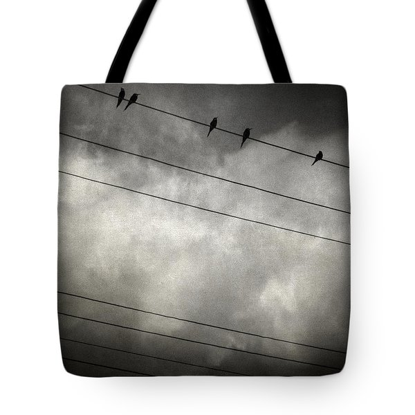 The Trace 11.24 Tote Bag by Taylan Apukovska