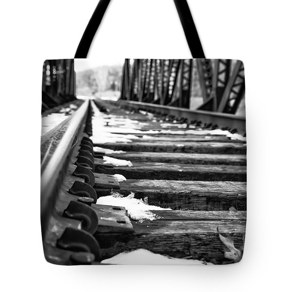 The Tracks Tote Bag