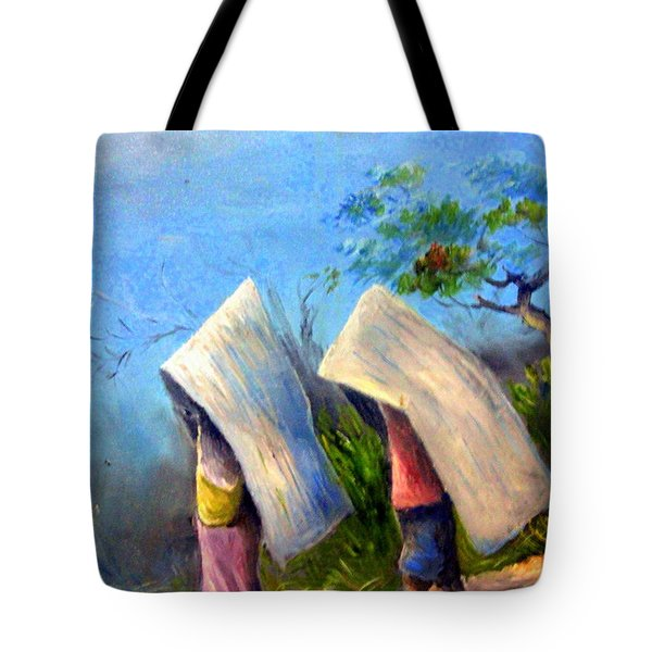 The Traditional Umbrella  Tote Bag