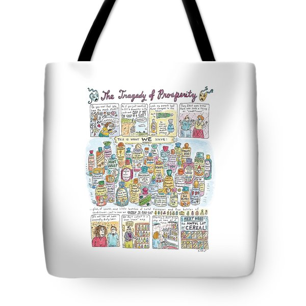'the Tragedy Of Prosperity' Tote Bag