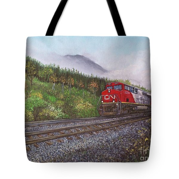 The Train West Tote Bag