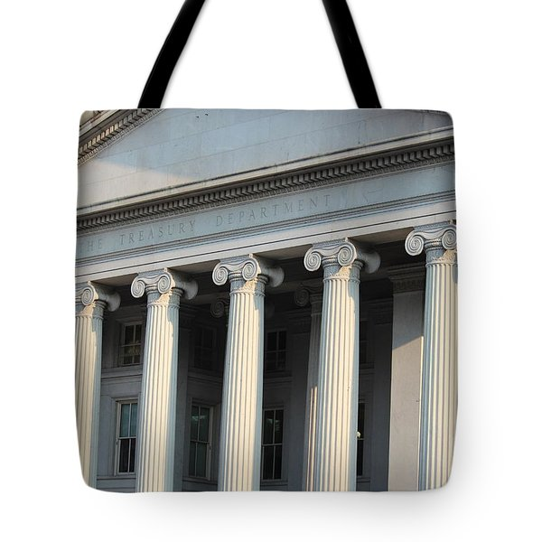 The Treasury Department Tote Bag