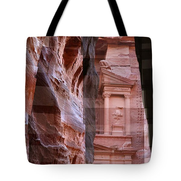 The Treasury Of Petra Jordan Tote Bag