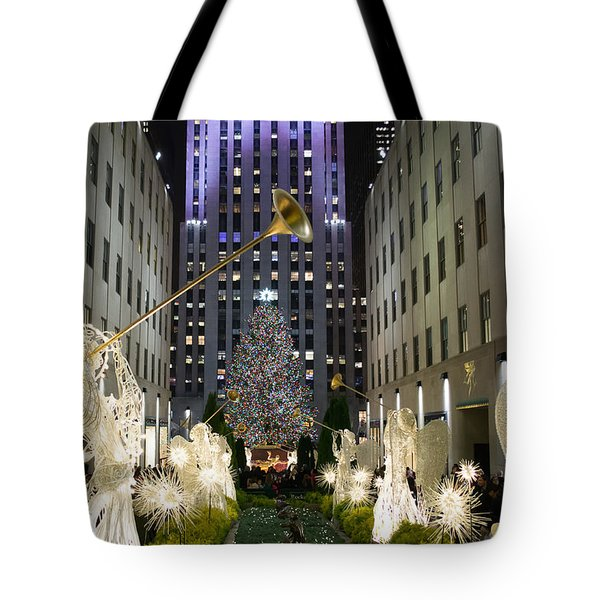 The Tree At Rockefeller Center Tote Bag