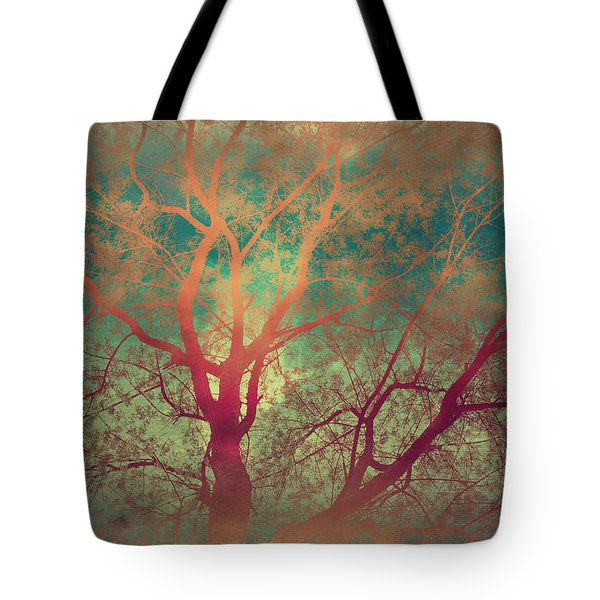 The Tree Called Beautiful Tote Bag by Gray  Artus