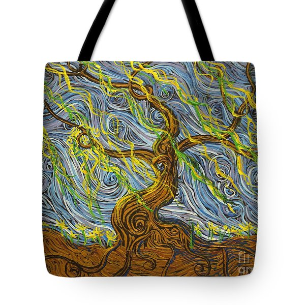 The Tree Have Eyes Tote Bag