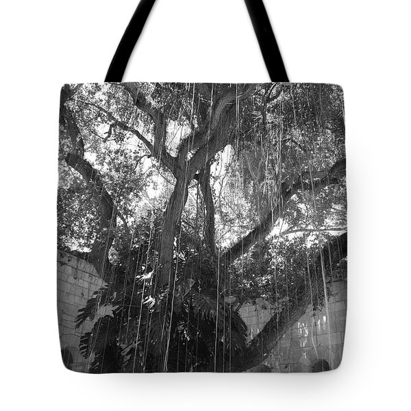 The Tree Vines Tote Bag