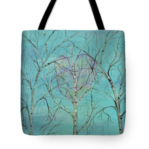 The Trees Speak To Me In Whispers Tote Bag by Deborha Kerr