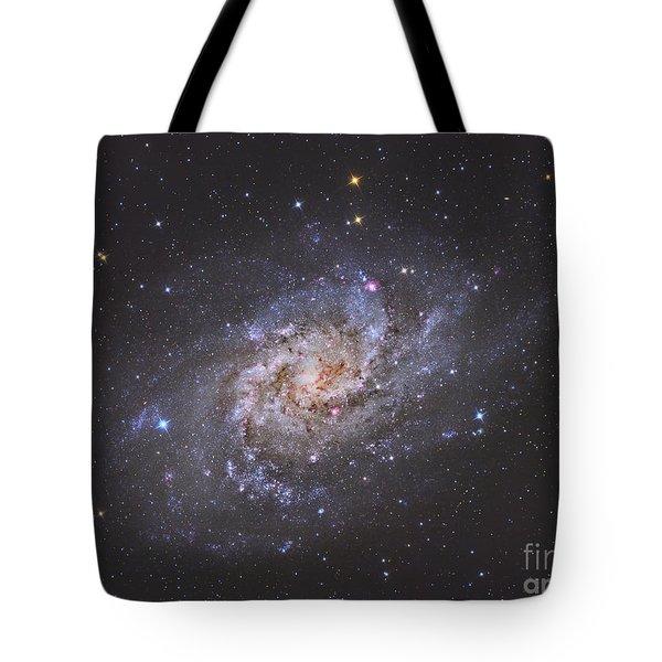 The Triangulum Galaxy Tote Bag by Reinhold Wittich