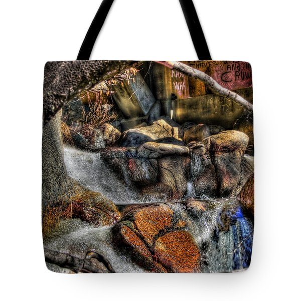 The Trolls Home Tote Bag by Bill Gallagher