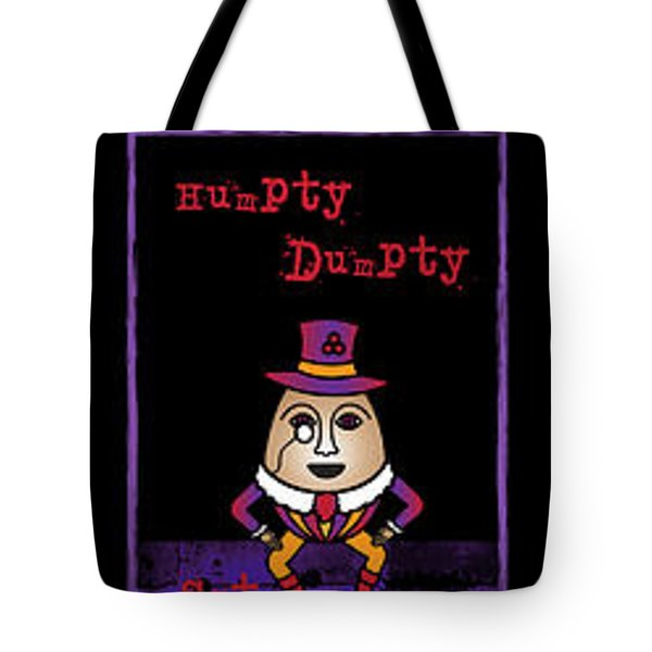 The Truth About Humpty Dumpty Tote Bag