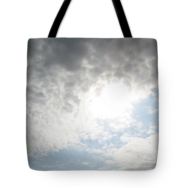 The Tunnel Of Light Tote Bag