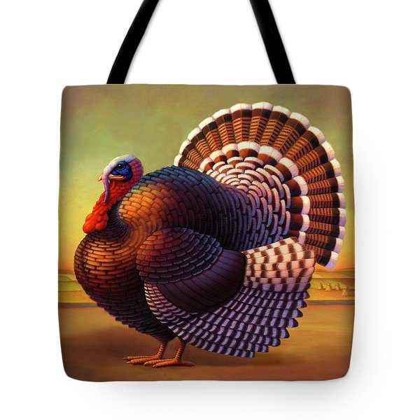 The Turkey Tote Bag by Robin Moline