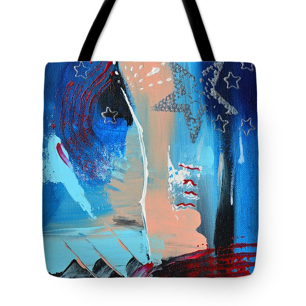 The Twilight's Last Gleaming Tote Bag by Donna Blackhall