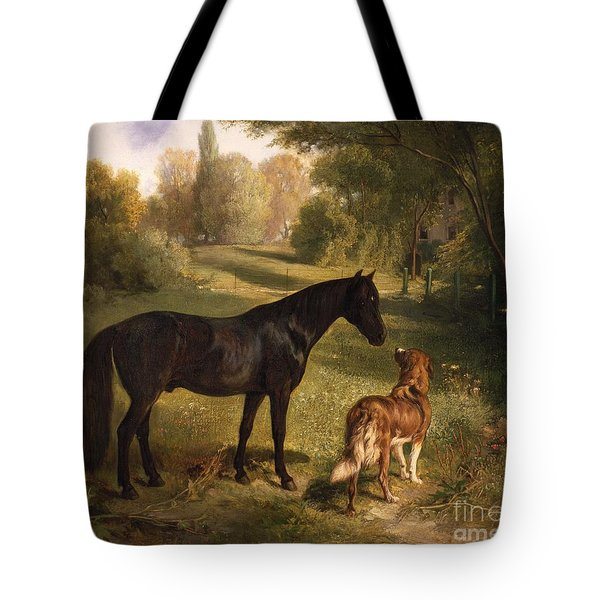 The Two Friends Tote Bag