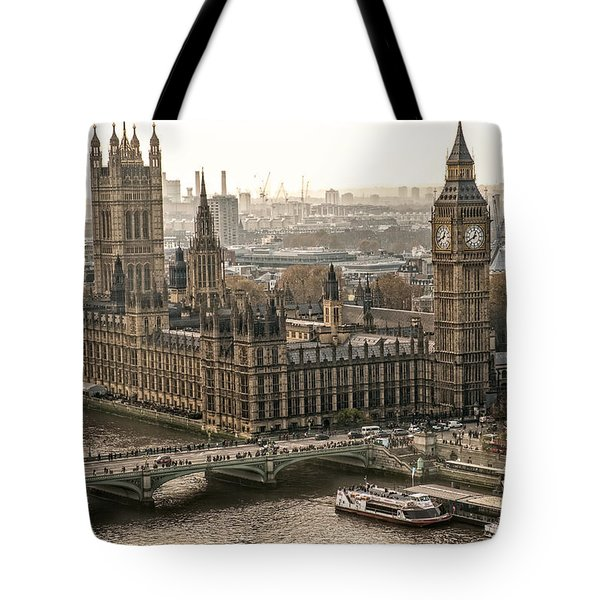 The Two Towers Tote Bag