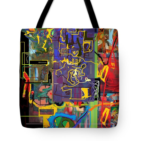 The Tzaddik Lives On Emunah 9c Tote Bag by David Baruch Wolk