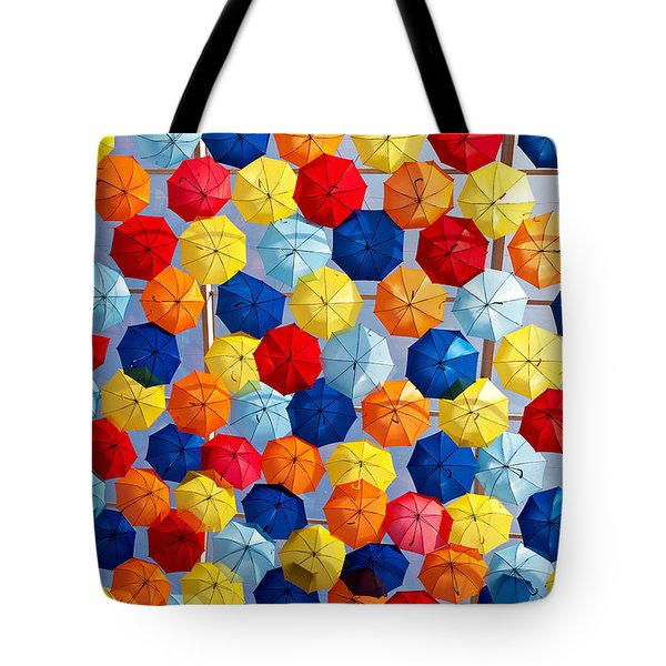 The Umbrella Sky Tote Bag
