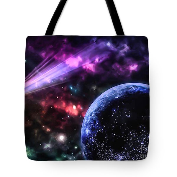 The Undiscovered Planet  Tote Bag
