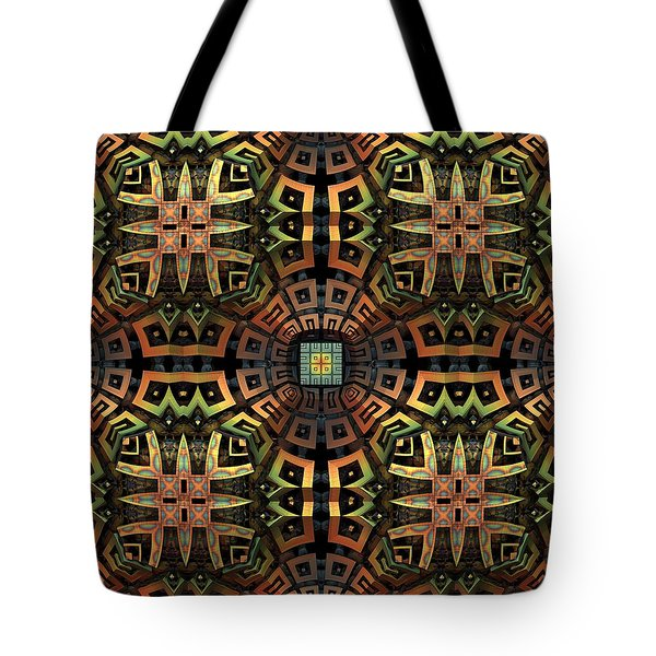 The Undiscovered Tribe Tote Bag by Lyle Hatch