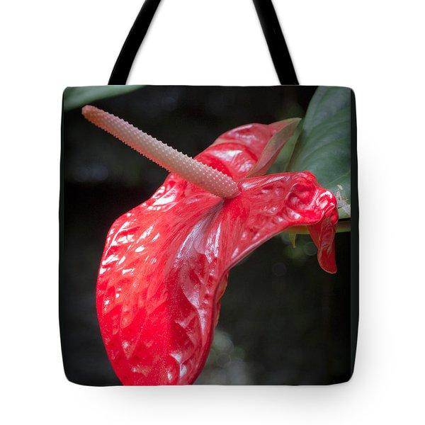 The Unique Antherium Tote Bag