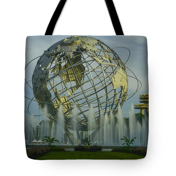 The Unisphere Tote Bag by Theodore Jones
