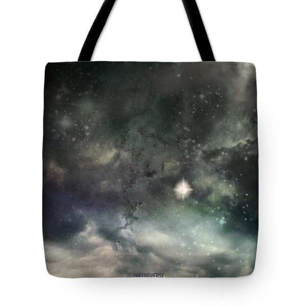 The Universe Tote Bag by Cynthia Lassiter