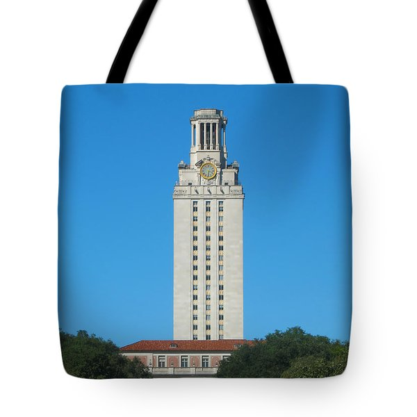 The University Of Texas Tower Tote Bag