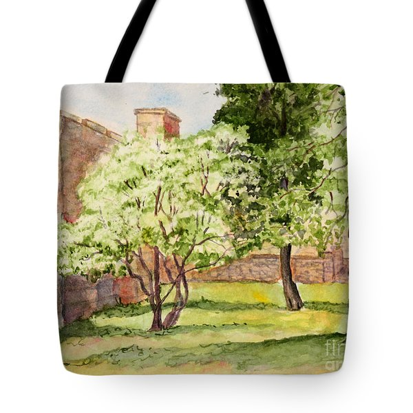 The University Of The South Campus Tote Bag by Janet Felts