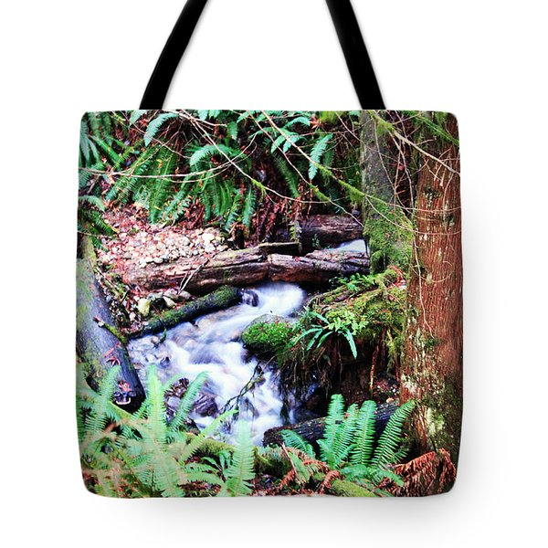 The Unknown Creek Tote Bag