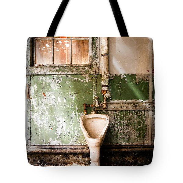 The Urinal Tote Bag by Gary Heller