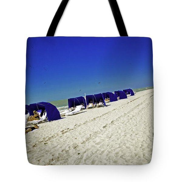 The Vacationers 2 Tote Bag by Madeline Ellis