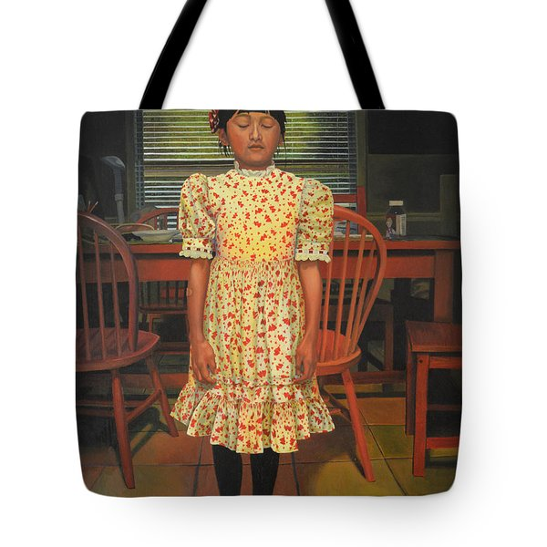 The Valentine Dress Tote Bag by Thu Nguyen