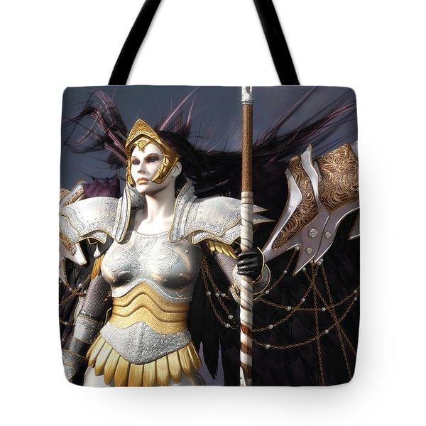 The Valkyrie Tote Bag by Melissa Krauss