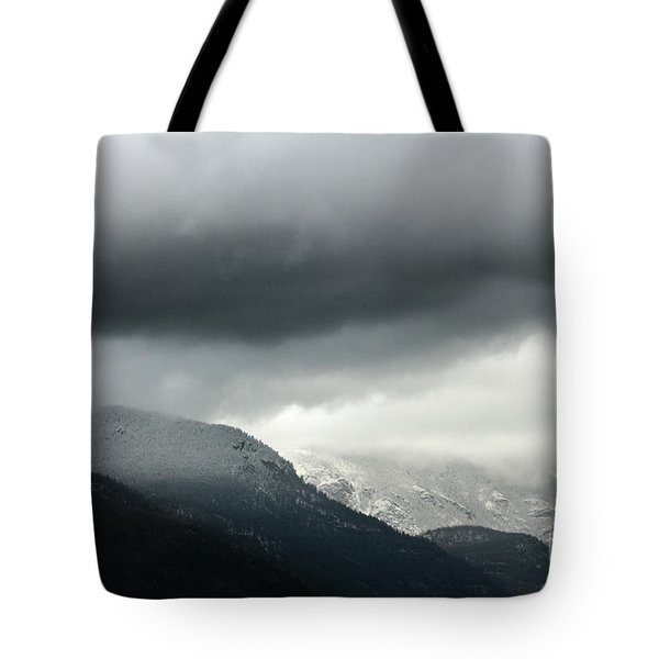 Tote Bag featuring the photograph The Valley by Dana DiPasquale