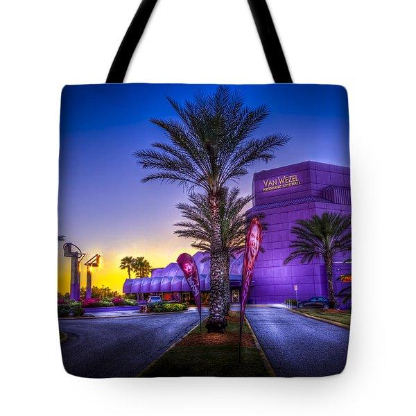 The Van Wezel Tote Bag by Marvin Spates