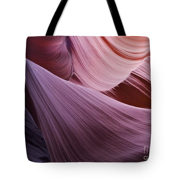 The Veil At Antelope Canyon Tote Bag by Alex Cassels