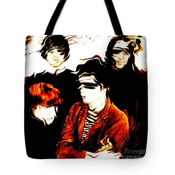 The Velvet Underground  Tote Bag by Elizabeth McTaggart
