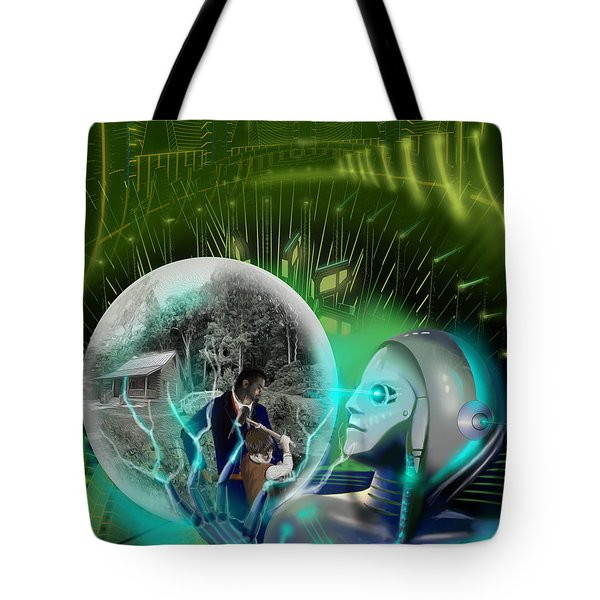 The Veneer Clause Tote Bag by James Christopher Hill